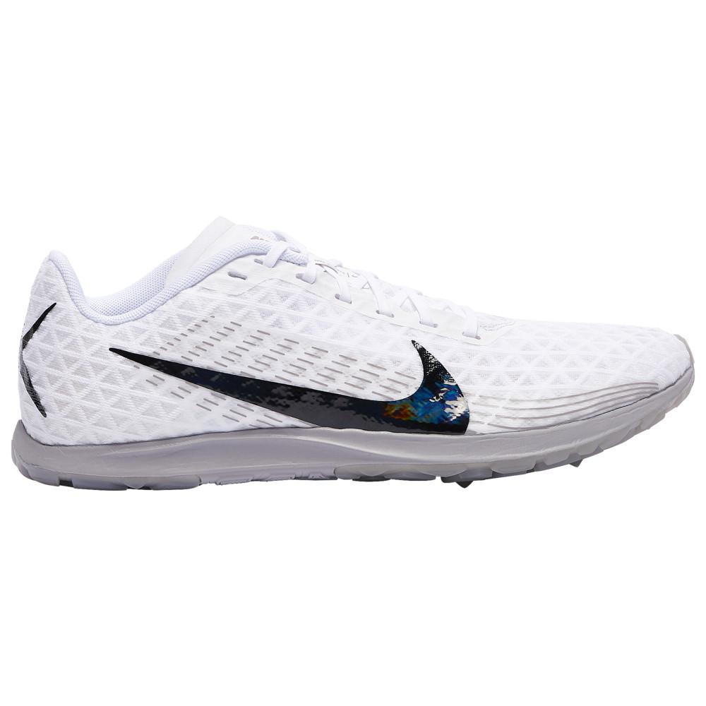 ナイキ Nike メンズ 陸上 シューズ・靴【Zoom Rival Waffle】White/Black/Atmosphere Grey