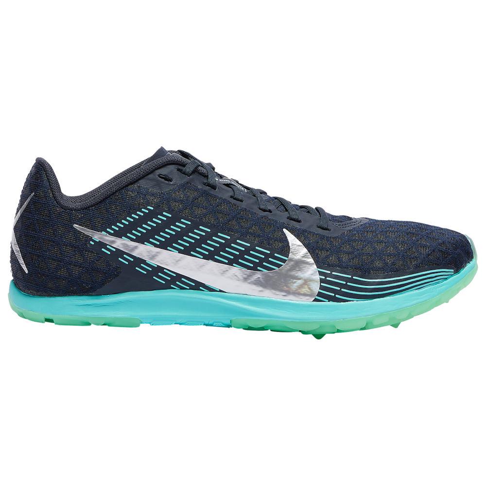 ナイキ Nike レディース 陸上 シューズ・靴【Zoom Rival Waffle】Obsidian/Metallic Silver/Aurora Green