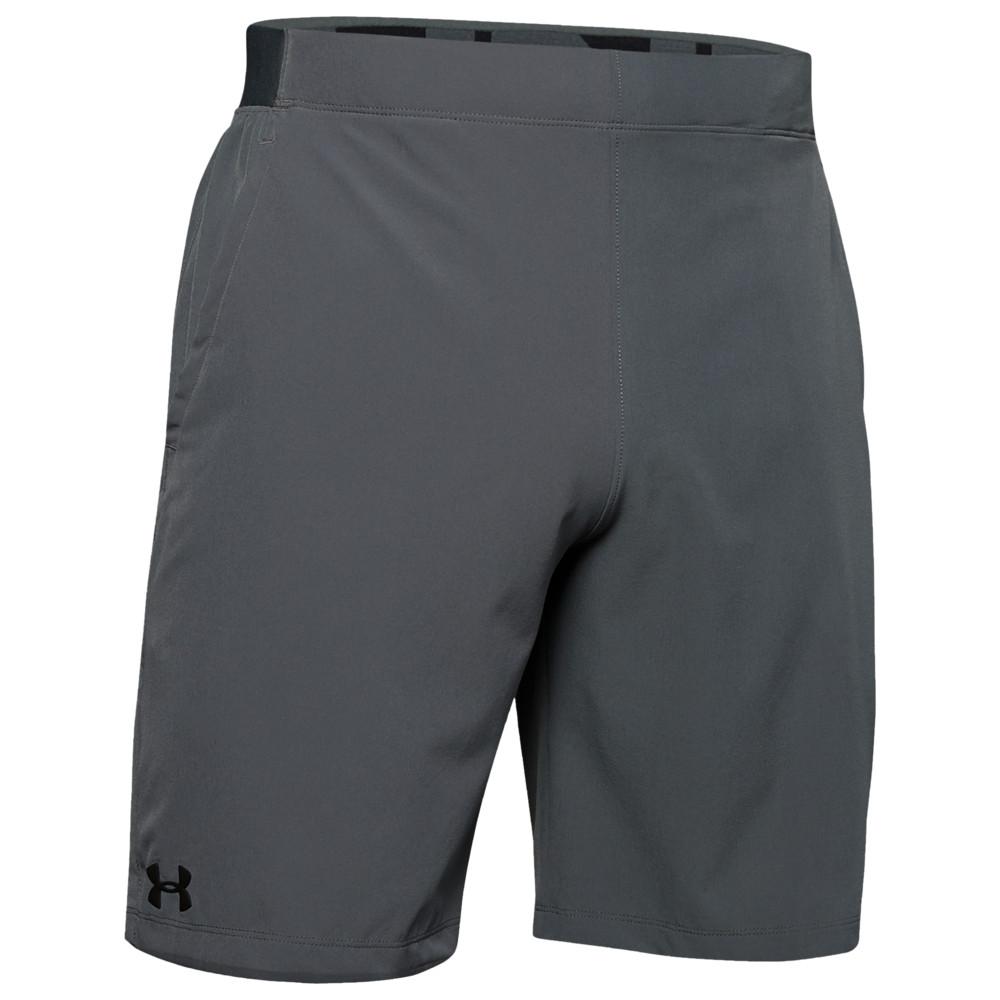 アンダーアーマー Under Armour メンズ フィットネス・トレーニング ショートパンツ ボトムス・パンツ【Vanish Snap Shorts】Pitch Grey/Black