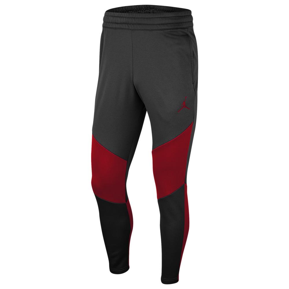 ナイキ ジョーダン Jordan メンズ フリース トップス【23 Alpha Therma Fleece Pants】Black/Gym Red