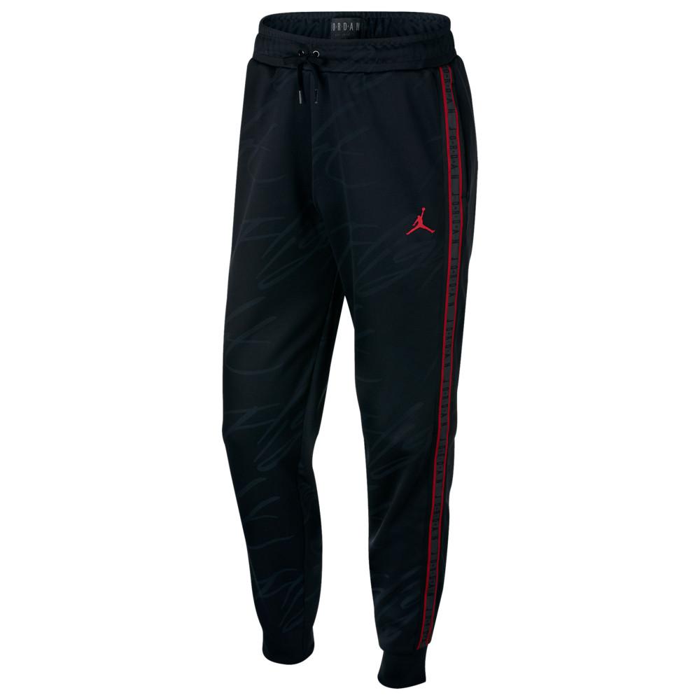 ナイキ ジョーダン Jordan メンズ バスケットボール ジャンプマン ボトムス・パンツ【Jumpman Tricot Pants】Black/Gym Red