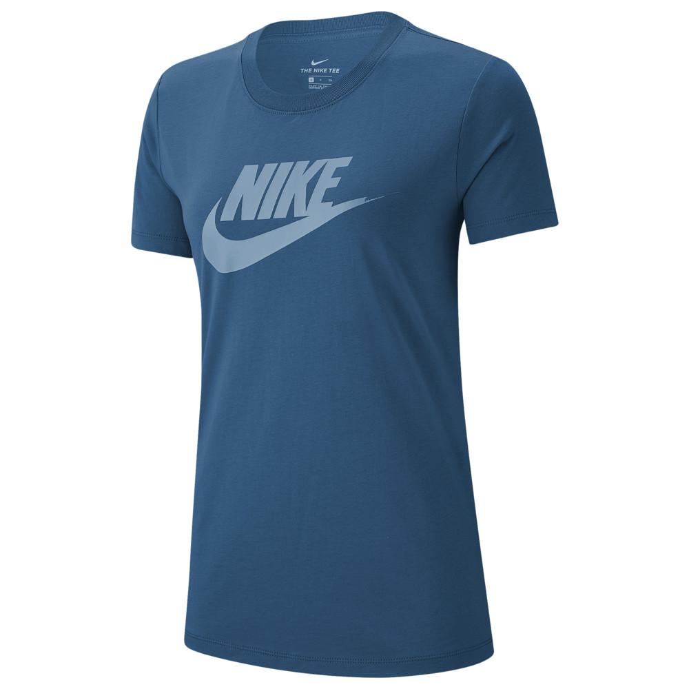 NEW NIKE Men/'s Blue Jay Futura Icon LOGO Athletic Cut Tee T Shirt Top LARGE L LG