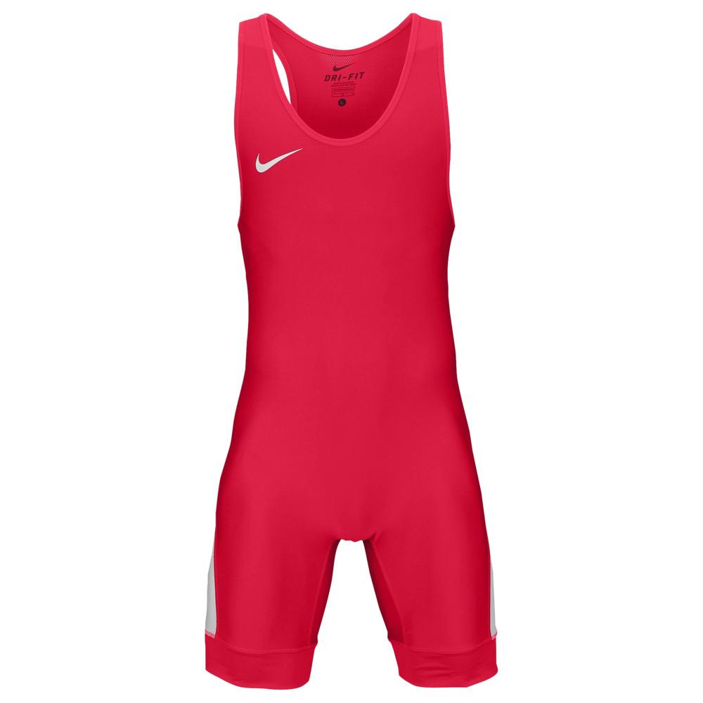 ナイキ Nike メンズ レスリング シングレット トップス【Grappler Elite Wrestling Singlet】Red