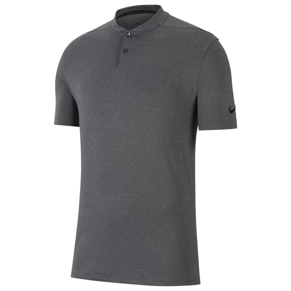 ナイキ Nike メンズ ゴルフ ポロシャツ トップス【Dry Vapor Heather Blade Golf Polo】Black/Pure/Black