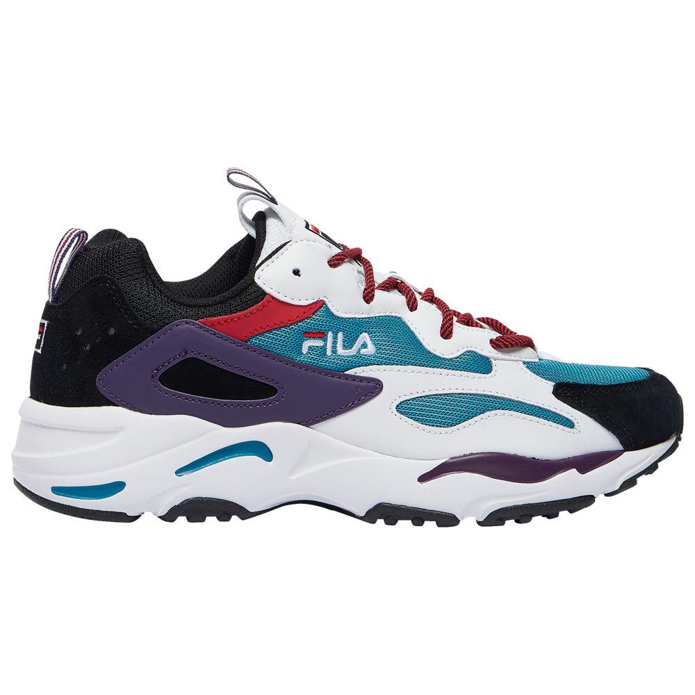 フィラ Fila メンズ フィットネス・トレーニング シューズ・靴【Ray Tracer】Harbour Blue/White/Black