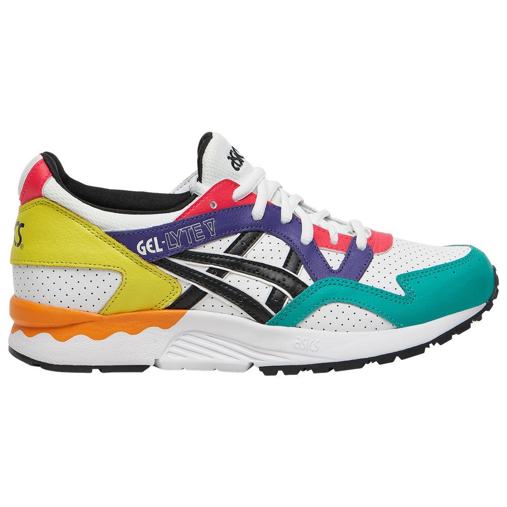アシックス ASICS Tiger レディース ランニング・ウォーキング シューズ・靴【GEL-Lyte V】White/Black