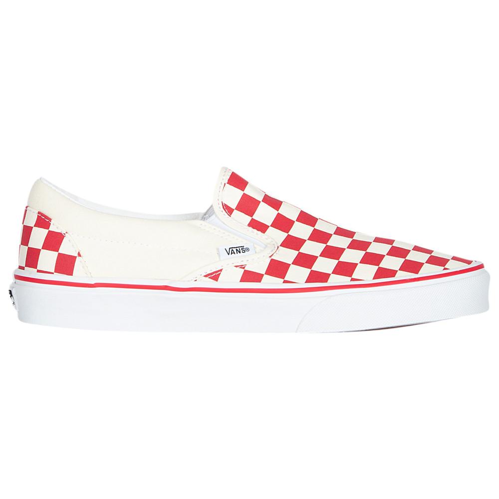 ヴァンズ Vans メンズ スケートボード スリッポン シューズ・靴【Classic Slip On】Racing Red/White