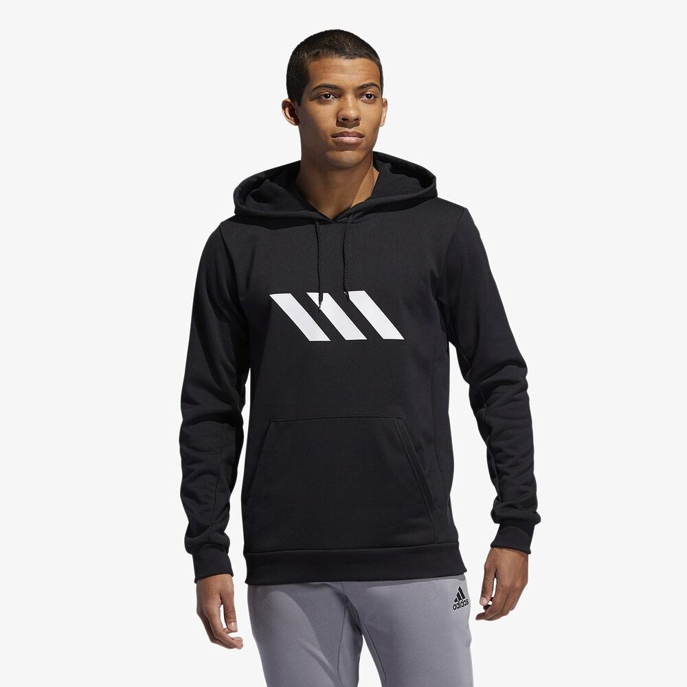 アディダス adidas メンズ バスケットボール パーカー トップス【Pro Sport Hoodie】Black