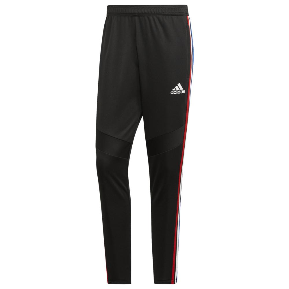 アディダス adidas メンズ スウェット・ジャージ ボトムス・パンツ【Tiro 19 Pants】Black/White/Power Red