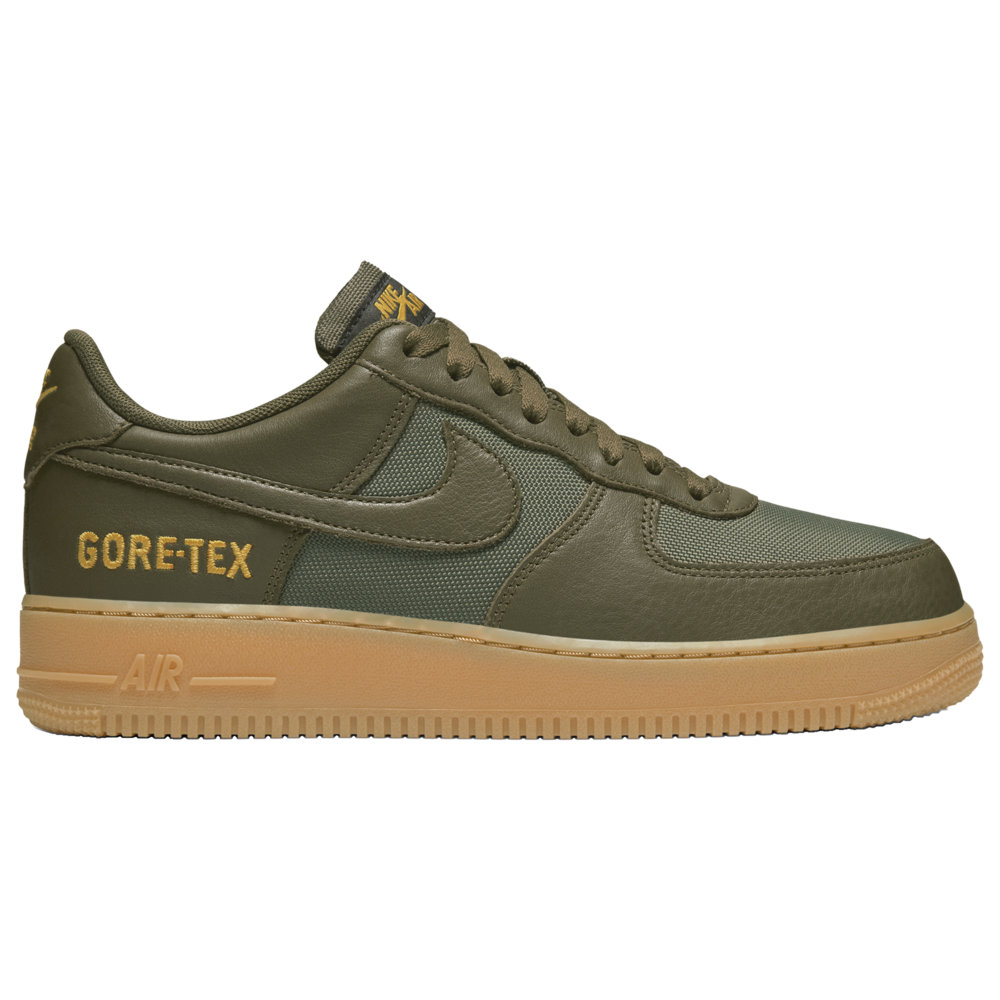 ナイキ Nike メンズ バスケットボール エアフォースワン シューズ・靴【Air Force 1 Low】Medium Olive/Sequoia/Gold/Black GTX - available to ship late November