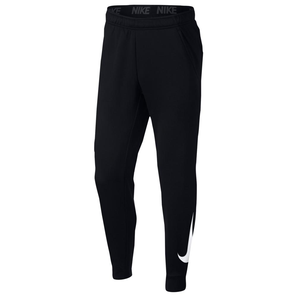 ナイキ Nike メンズ フィットネス・トレーニング テーパードパンツ ボトムス・パンツ【Therma Fleece Tapered Pants】Black/White GFX