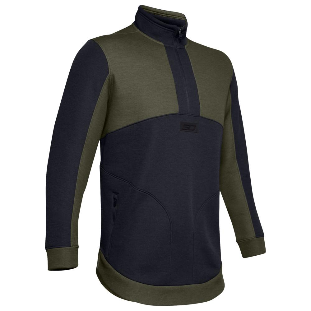 アンダーアーマー Under Armour メンズ バスケットボール ジャケット アウター【SC30 Warm-Up Jacket】Stephen Curry Guardian Green/Black