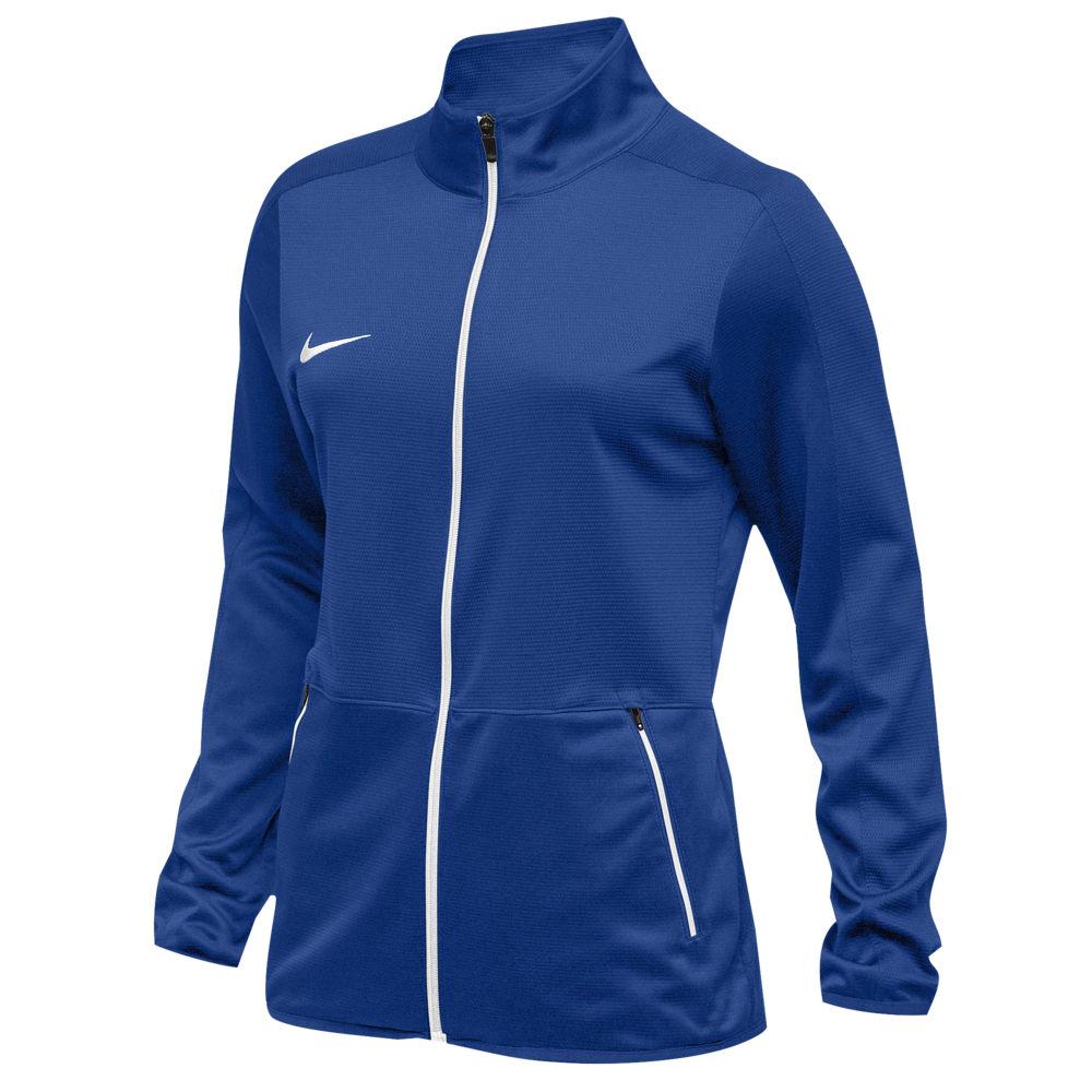 ナイキ Nike レディース ジャケット アウター【Team Rivalry Jacket】Royal/White