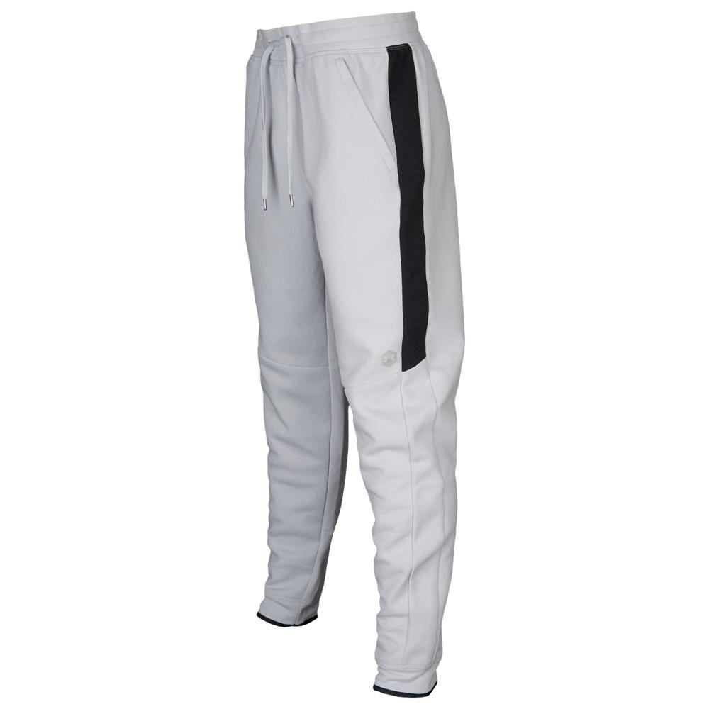 アンダーアーマー Under Armour メンズ フィットネス・トレーニング ボトムス・パンツ【Recover Fleece Pants】Halo Grey/Metallic Silver