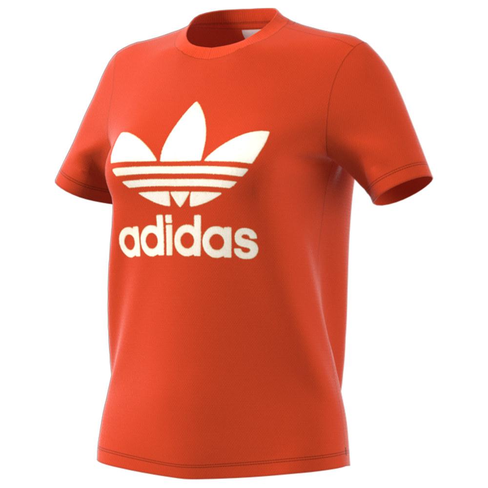 アディダス adidas Originals レディース Tシャツ トップス【Trefoil T-Shirt】Craft Orange
