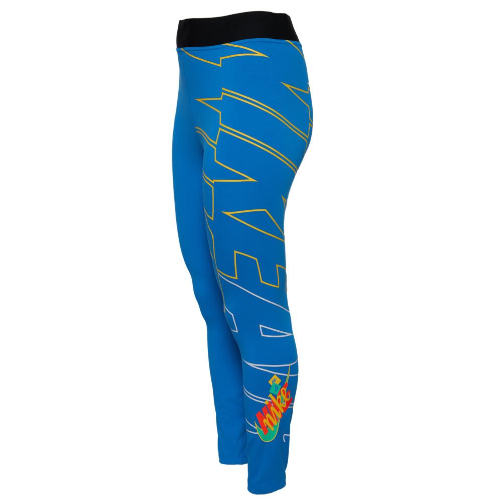 ナイキ Nike レディース スパッツ・レギンス インナー・下着【AF1 High Waist Leg-A-See Tights】Light Photo Blue