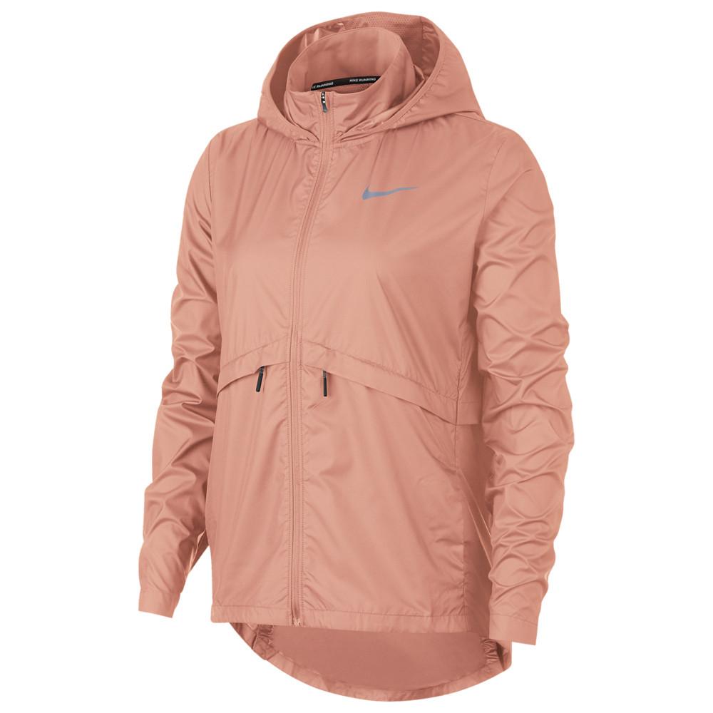 ナイキ Nike レディース フィットネス・トレーニング ジャケット アウター【Essential Jacket】Pink Quartz/Reflective Silver