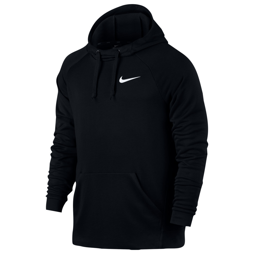 ナイキ Nike メンズ フィットネス・トレーニング パーカー トップス【Lightweight Fleece Hoodie】Black/White