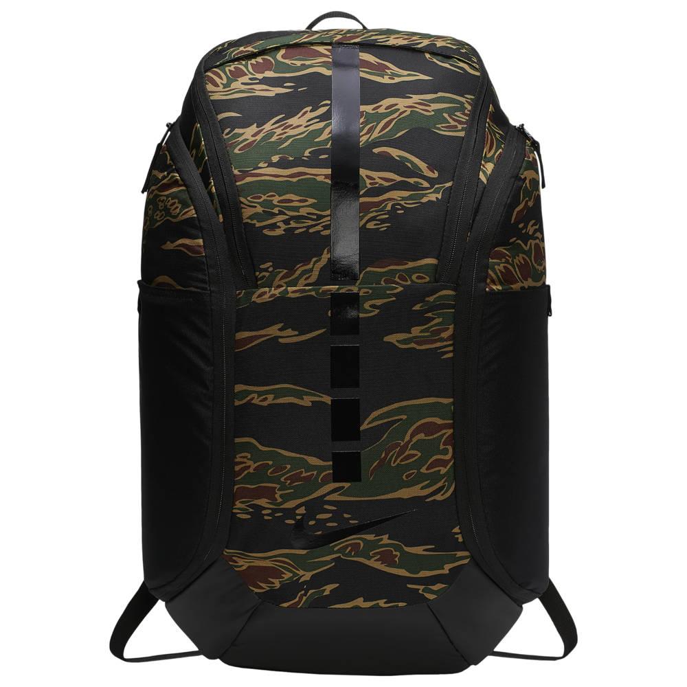ナイキ Nike ユニセックス バスケットボール バックパック・リュック【Hoops Elite Pro Backpack】Black/Beechtree/Black AOP