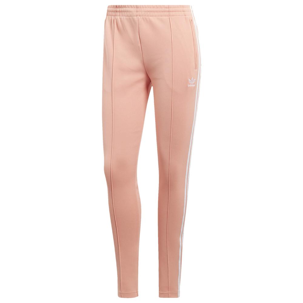 アディダス adidas Originals レディース スウェット・ジャージ ボトムス・パンツ【Adicolor Superstar Track Pants】Dust Pink