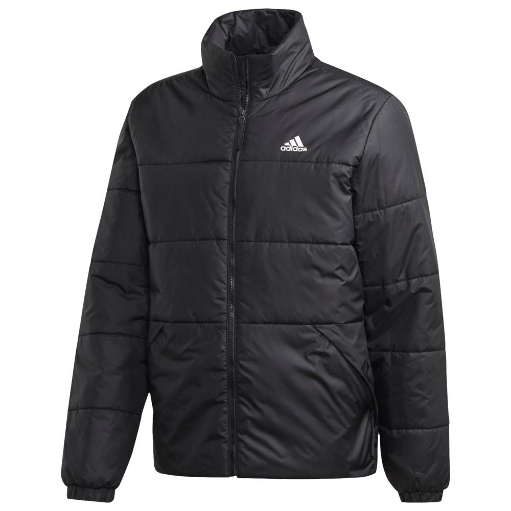 アディダス adidas Athletics メンズ ダウン・中綿ジャケット アウター【3 Stripe Insulated Jacket】Black