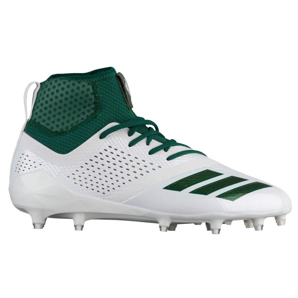 アディダス adidas メンズ アメリカンフットボール シューズ・靴【adiZero 5-Star 7.0 Mid】White/Dark Green/Dark Green