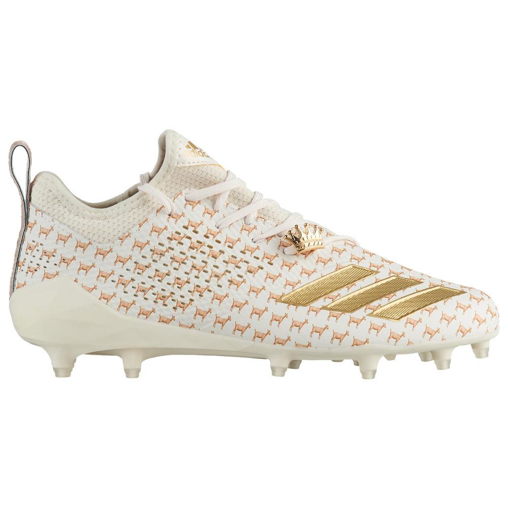 アディダス adidas メンズ アメリカンフットボール シューズ・靴【adiZero 5-Star 7.0 adiMoji】White/Ash Pearl/Off White Goat