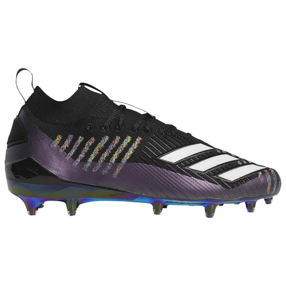 アディダス adidas メンズ アメリカンフットボール シューズ・靴【adiZero 8.0 Primeknit】Core Black/White/Grey Six