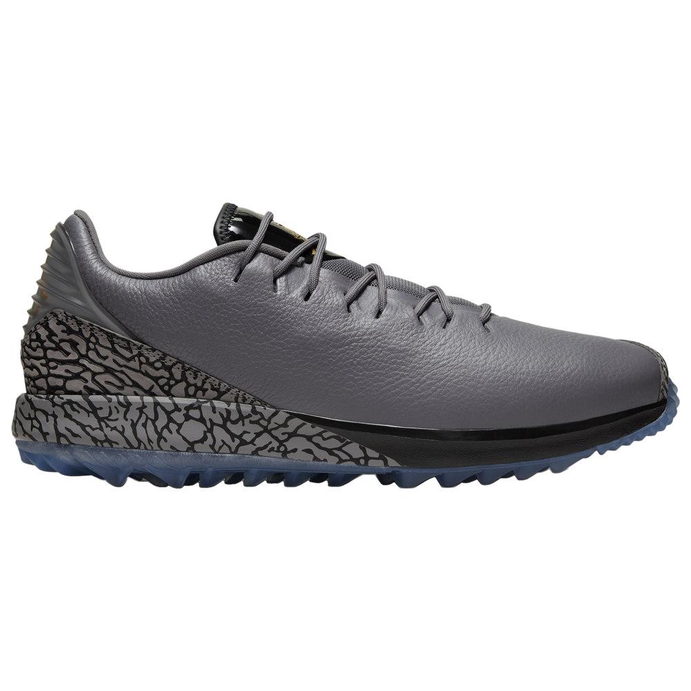 ナイキ ジョーダン Jordan メンズ ゴルフ シューズ・靴【ADG Golf Shoes】Gunsmoke/Metallic ゴールド/黒