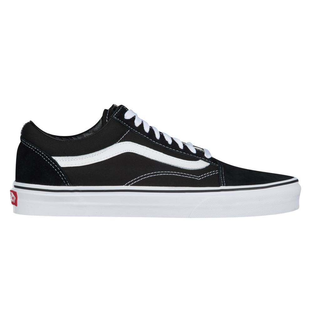 ヴァンズ Vans メンズ スケートボード シューズ・靴【Old Skool】Black/White