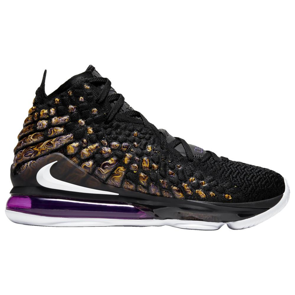ナイキ Nike メンズ バスケットボール シューズ・靴【LeBron 17】Lebron James Black/White/Eggplant/Amarillo