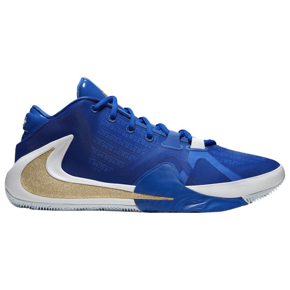 ナイキ Nike メンズ バスケットボール シューズ・靴【Zoom Freak 1】Giannis Antetokounmpo Hyper Royal/Metallic Gold/Blue Hero/White