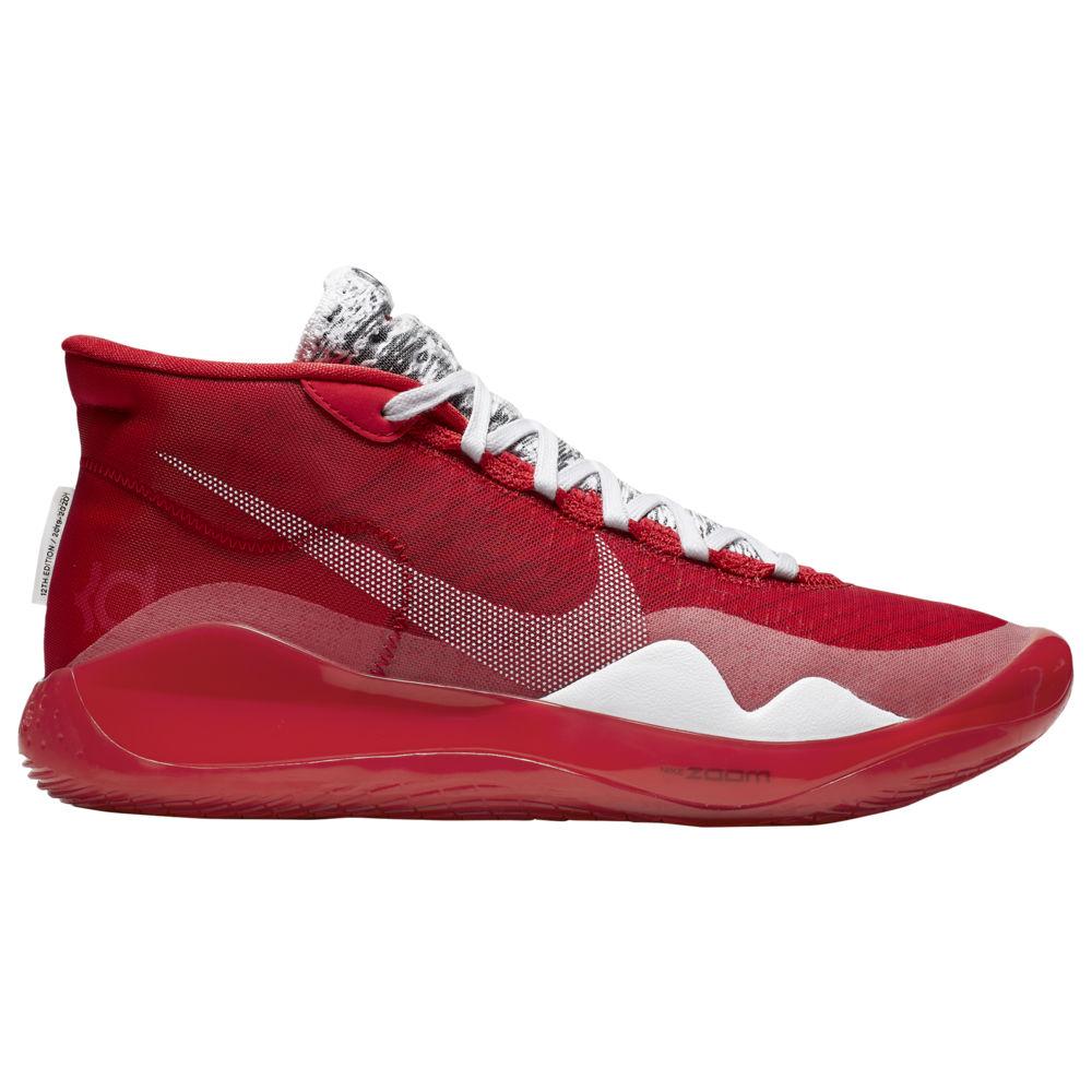 ナイキ Nike メンズ バスケットボール シューズ・靴【Zoom KD12】Kevin Durant University Red/White