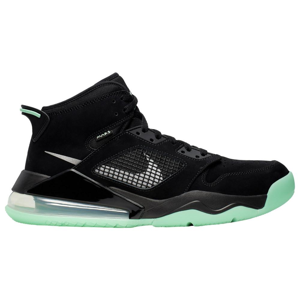 ナイキ ジョーダン Jordan メンズ バスケットボール シューズ・靴【Mars 270】Black/Green Glow/Green Glow