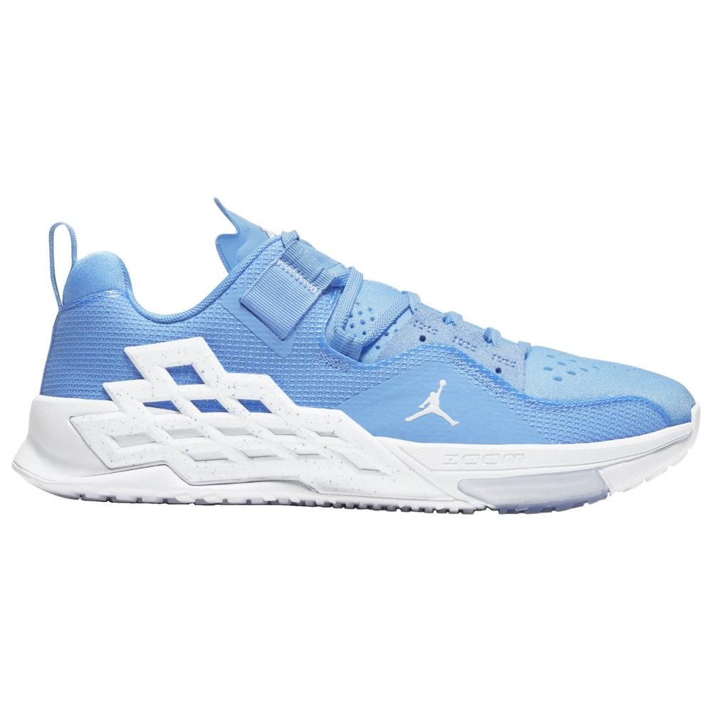 ナイキ ジョーダン Jordan メンズ フィットネス・トレーニング シューズ・靴【Alpha 360】University Blue/White/College Navy UNC