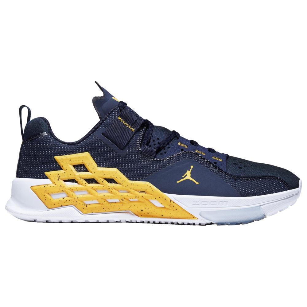 ナイキ ジョーダン Jordan メンズ フィットネス・トレーニング シューズ・靴【Alpha 360】Midnight Navy/Amarillo/White MICHIGAN