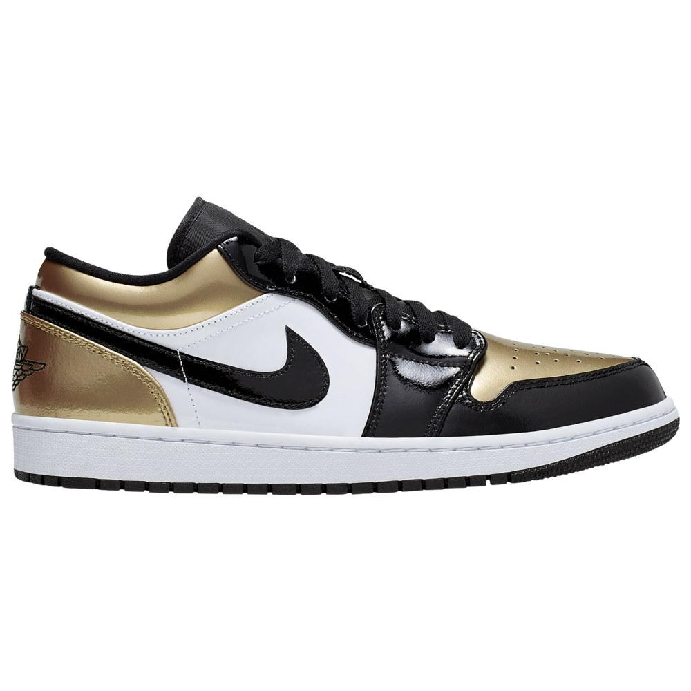 ナイキ ジョーダン Jordan メンズ バスケットボール シューズ・靴【AJ 1 Low】Metallic Gold/Black/White