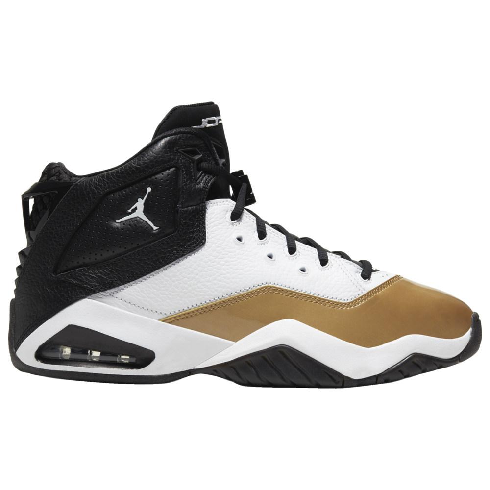 ナイキ ジョーダン Jordan メンズ バスケットボール シューズ・靴【B'Loyal】White/Black/Metallic Gold