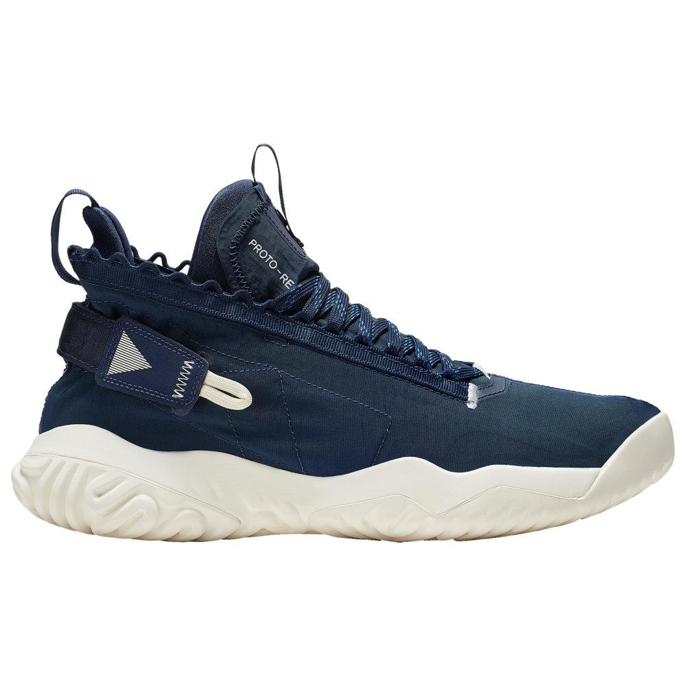 ナイキ ジョーダン Jordan メンズ バスケットボール シューズ・靴【Proto-React】Midnight Navy/Pale Ivory/Sail