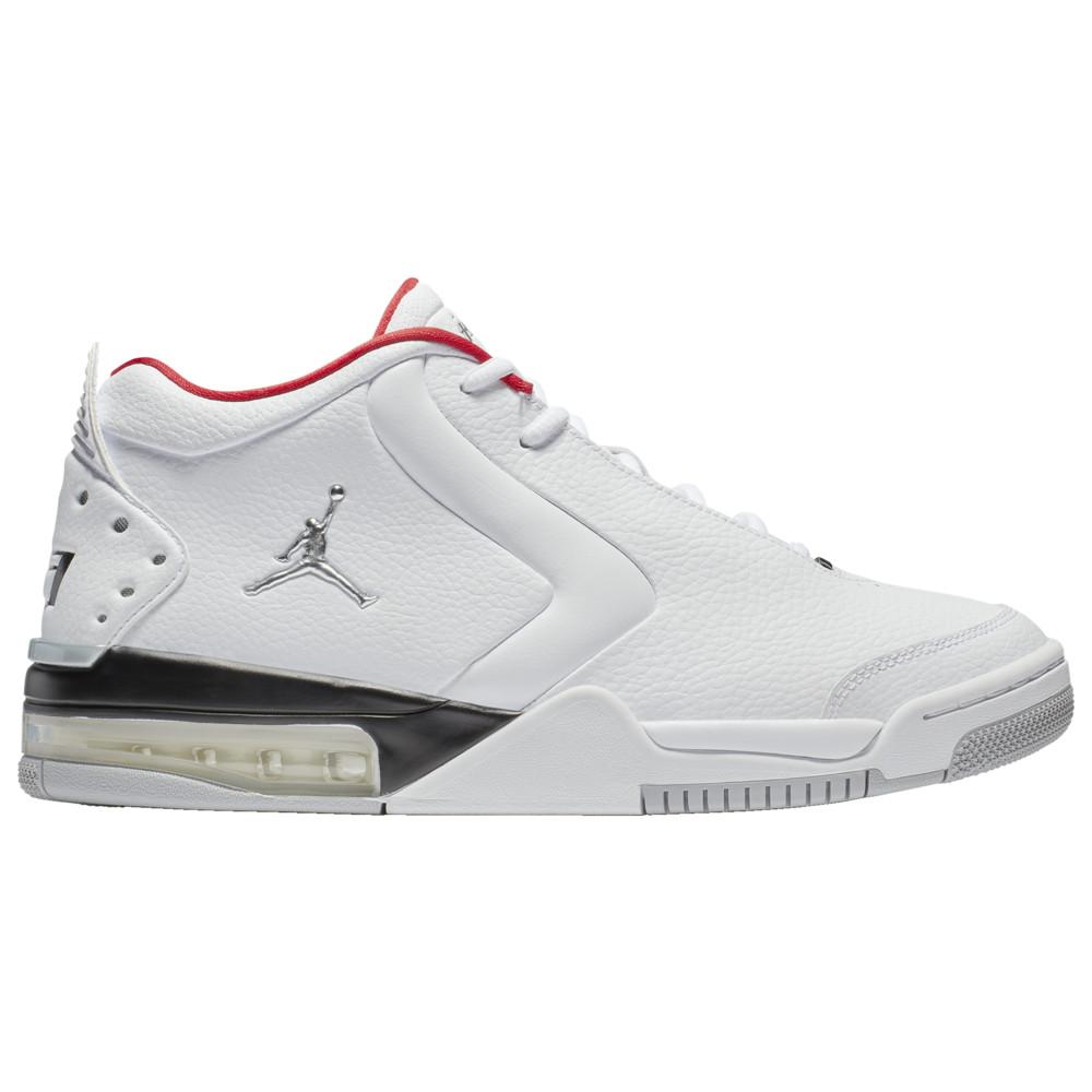 ナイキ ジョーダン Jordan メンズ バスケットボール シューズ・靴【Big Fund】White/Metallic Silver/Black/University Red