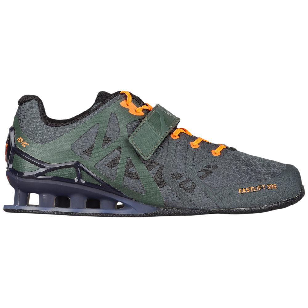 イノヴェイト Inov-8 メンズ フィットネス・トレーニング シューズ・靴【Fastlift 335】Thyme/Black/Orange