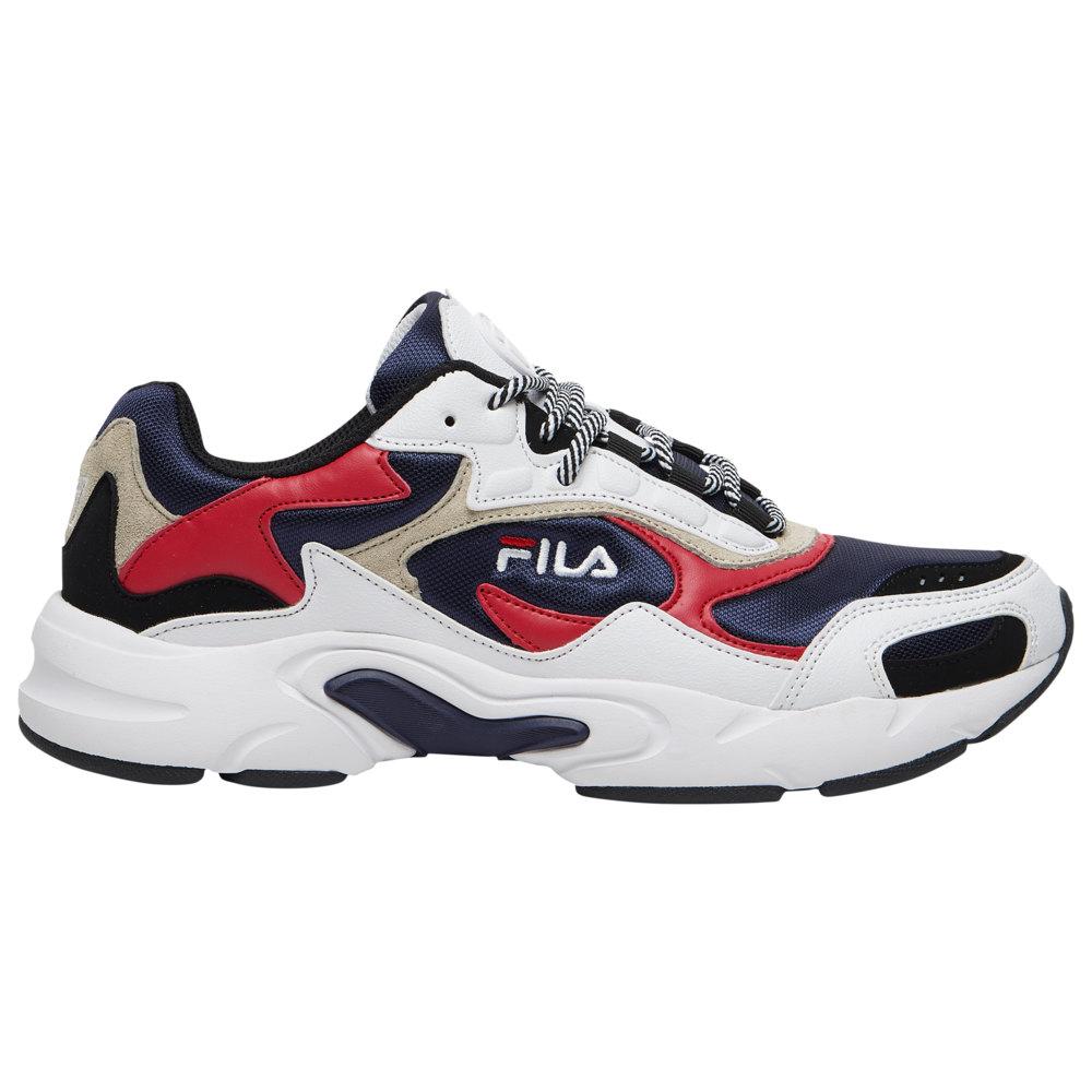 フィラ Fila メンズ フィットネス・トレーニング シューズ・靴【Luminance】Navy/Red/White