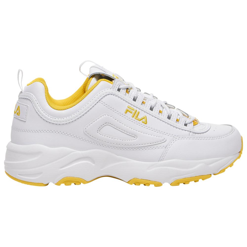フィラ Fila メンズ フィットネス・トレーニング シューズ・靴【Disruptor II X Ray Tracer】White/White
