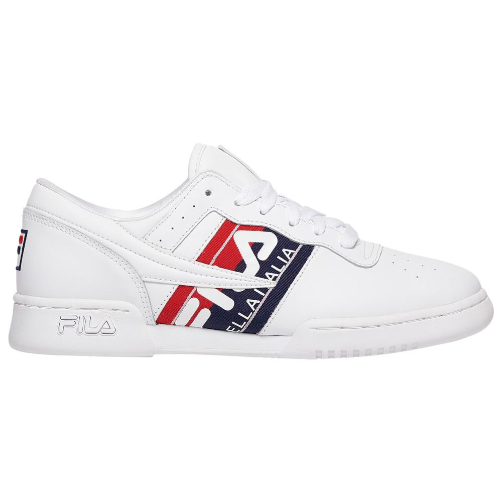 フィラ Fila メンズ フィットネス・トレーニング シューズ・靴【Original Fitness Italia】White/Navy/Red
