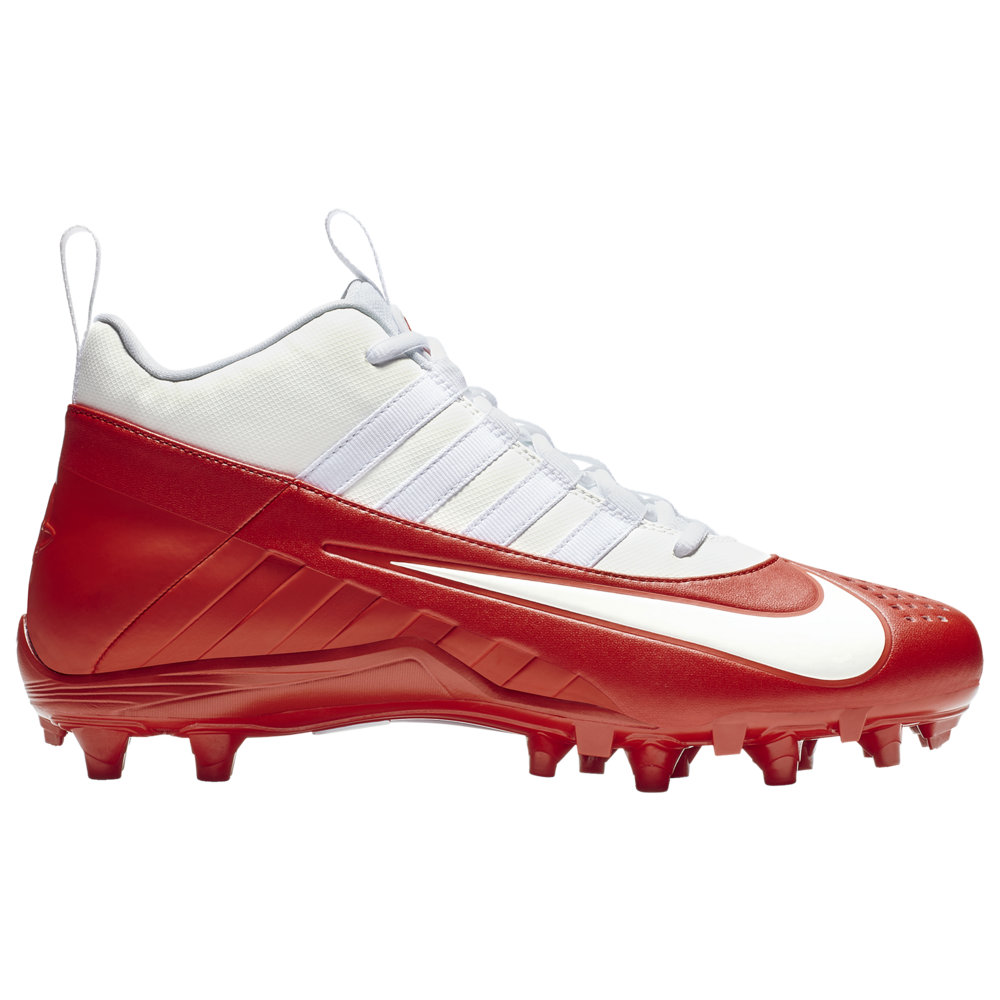 ナイキ Nike メンズ ラクロス シューズ・靴【Alpha Huarache 6 Varsity LAX】White/White/University Red/Light Crimson