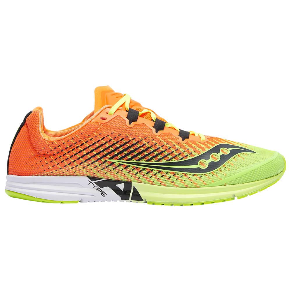 サッカニー Saucony メンズ ランニング・ウォーキング シューズ・靴【Type A9】Citron/Orange