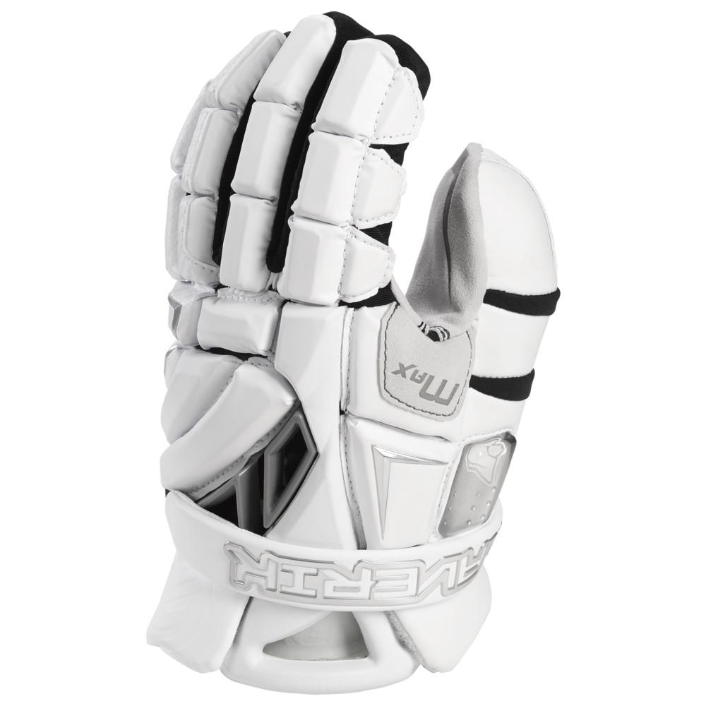 マーヴェリック Maverik Lacrosse メンズ ラクロス グローブ【Max Goalie Glove 2022】White