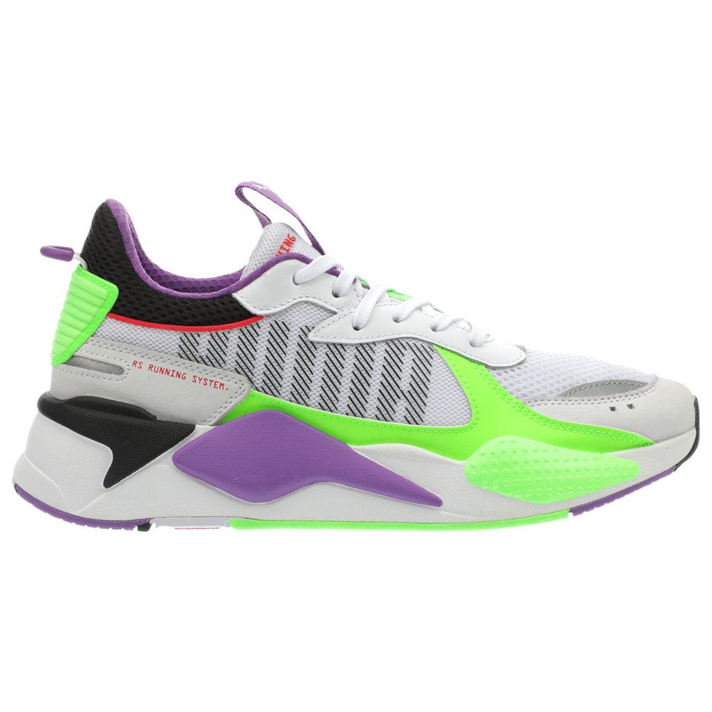 プーマ PUMA メンズ ランニング・ウォーキング シューズ・靴【RS-X】White/Green/Lava