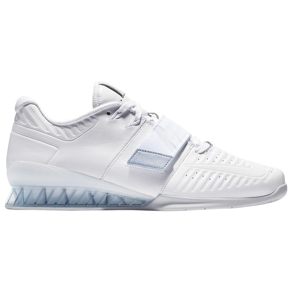 ナイキ Nike メンズ フィットネス・トレーニング シューズ・靴【Romaleos 3XD】White/Metallic Platinum