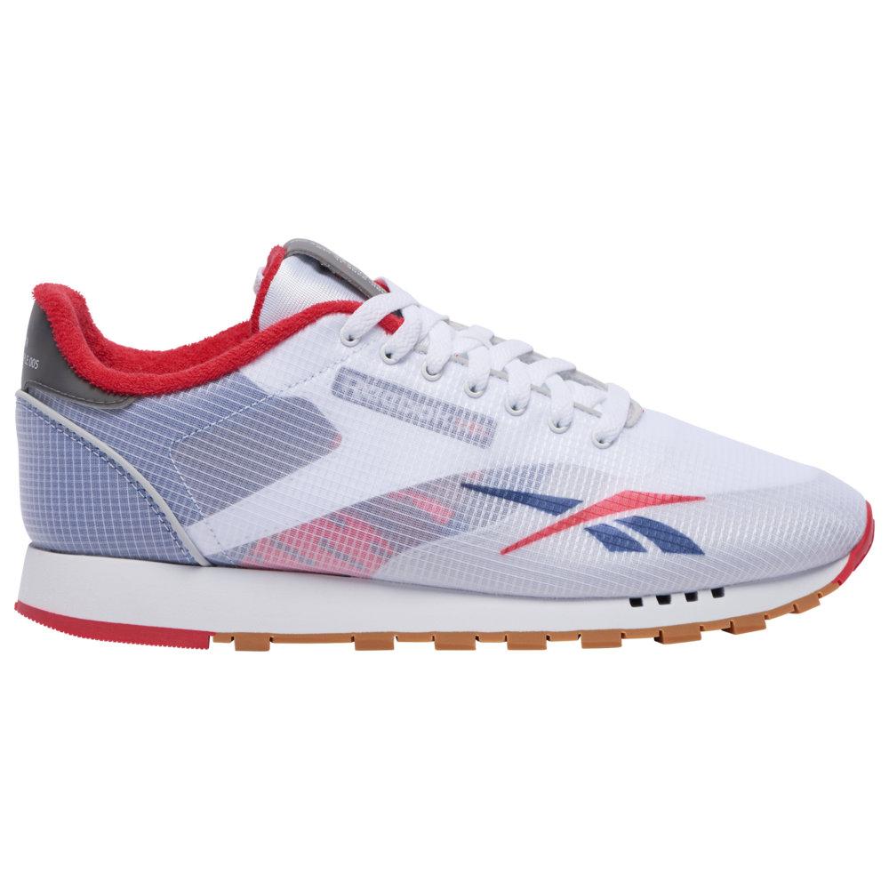リーボック Reebok メンズ ランニング・ウォーキング シューズ・靴【Classic Leather Altered】White/Washed Blue/Primal Red